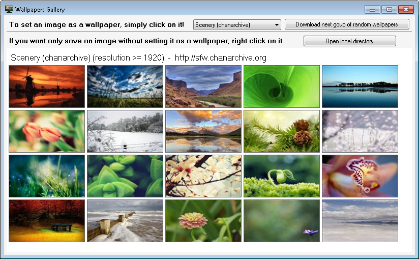 My Daily Wallpaper Automatically Download And Change Windows Wallpaper My Portable Software