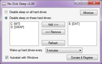 No Disk Sleep Resimler
